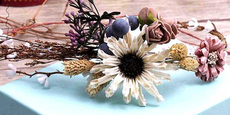 Diademas Y Tocados De Flores Secas Defloressecas Com